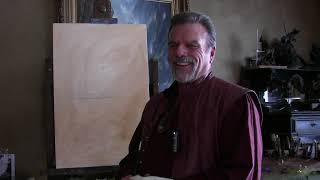 Painting Demo By Stefan Baumann Step By Step How To Paint Plein Air On Location.