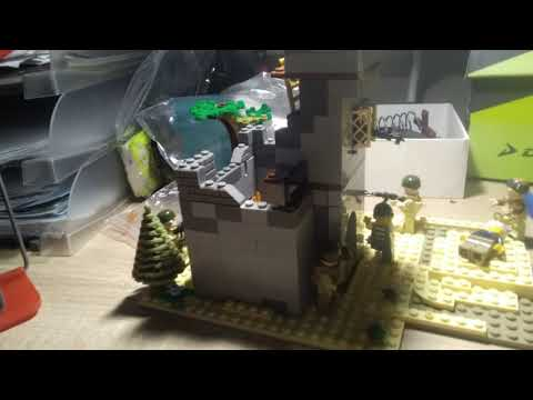 Орда зомби нападает! Лего самоделка.