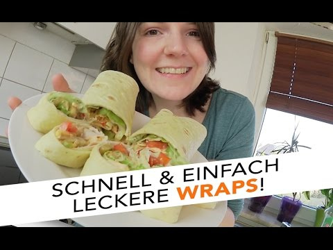 gesunde wraps schnell einfach party snack fingerfood sabrina andexer youtube. Black Bedroom Furniture Sets. Home Design Ideas