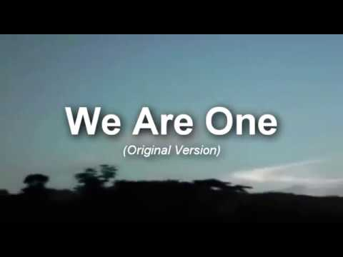 WE ARE ONE (Official Theme Song of NCYM 2000) Original Version