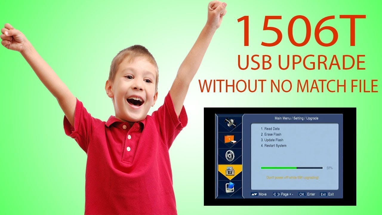 1506T USB UPGRADE SOFTWARE FOR GPRS SIM RECEIVER NEWSAT N 9000 WITH OUT NO  MATCH FILE