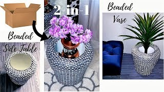 HOW TO TURN BOXES AND CAR SEATS INTO SIDE TABLES & VASES! EASY DIY IDEAS 2019!!!