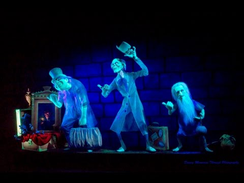 2015 haunted mansion at magic kingdom in orlando florida youtube