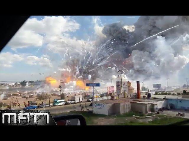 7 HUGE EXPLOSIONS CAUGHT ON CAMERA Standard quality (480p)