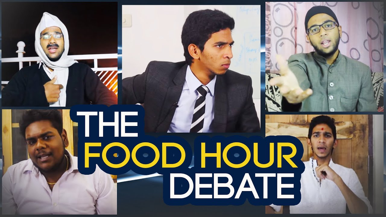 The Food Hour Debate || Kantri Guyz