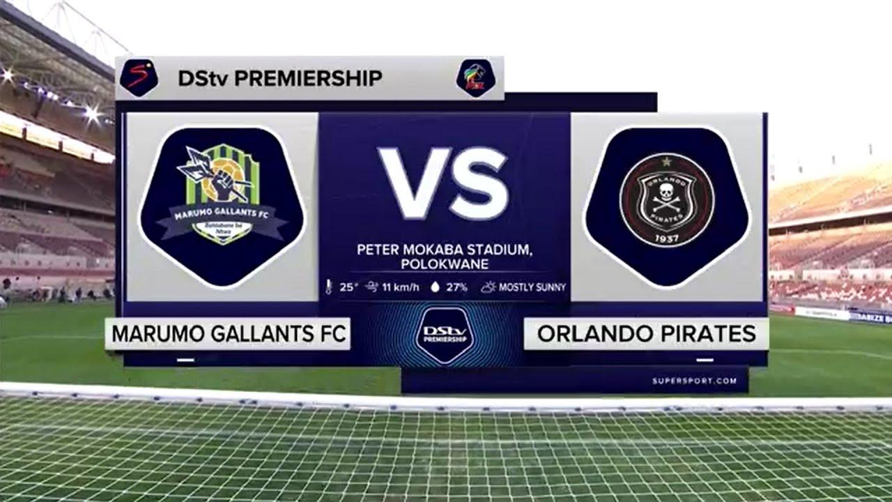 Download DStv Premiership   Marumo Gallants v Orlando Pirates   Highlights