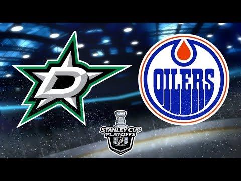 NHL® 18 Playoffs Round 1   Dallas Stars v.s. Edmonton Oilers   Game 1