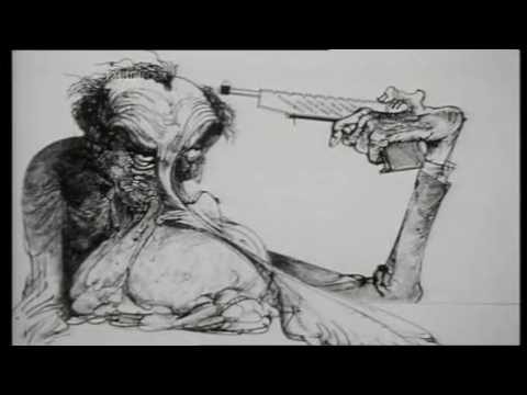 Gerald Scarfe -  'Drawing Blood' documentary BBC4 2010