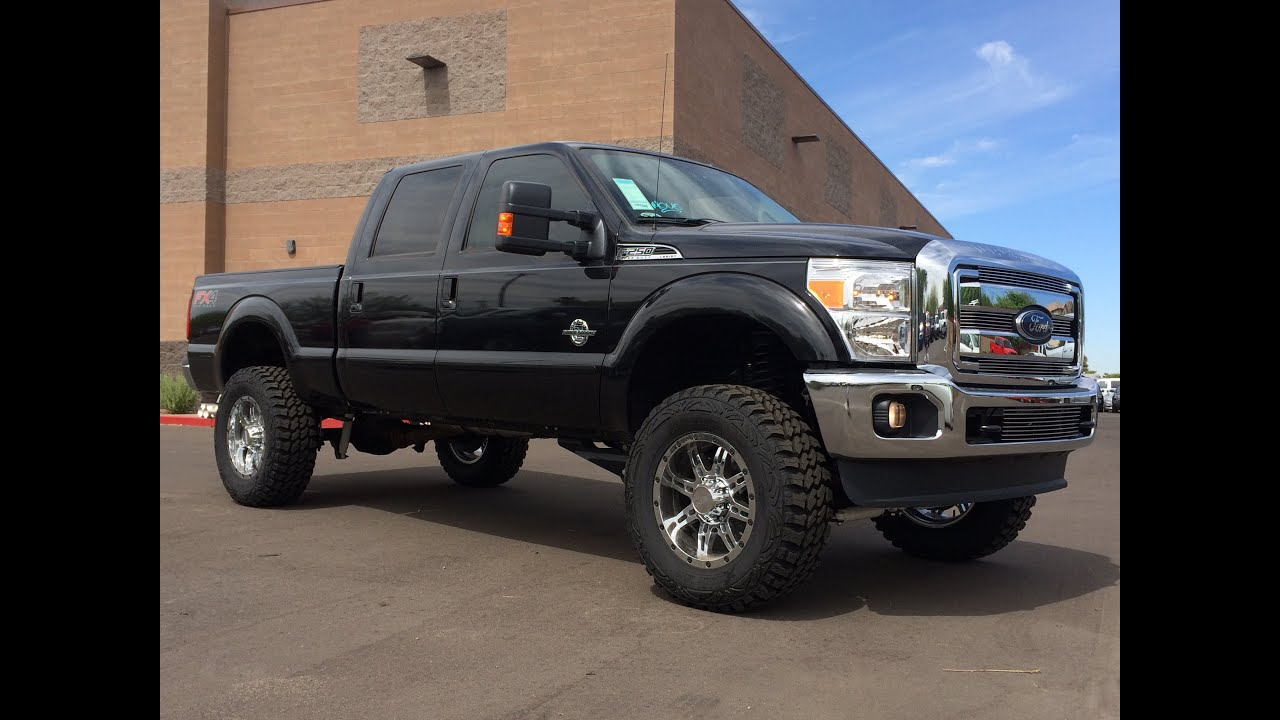 2015 ford f 250 lariat lifted walkaround youtube