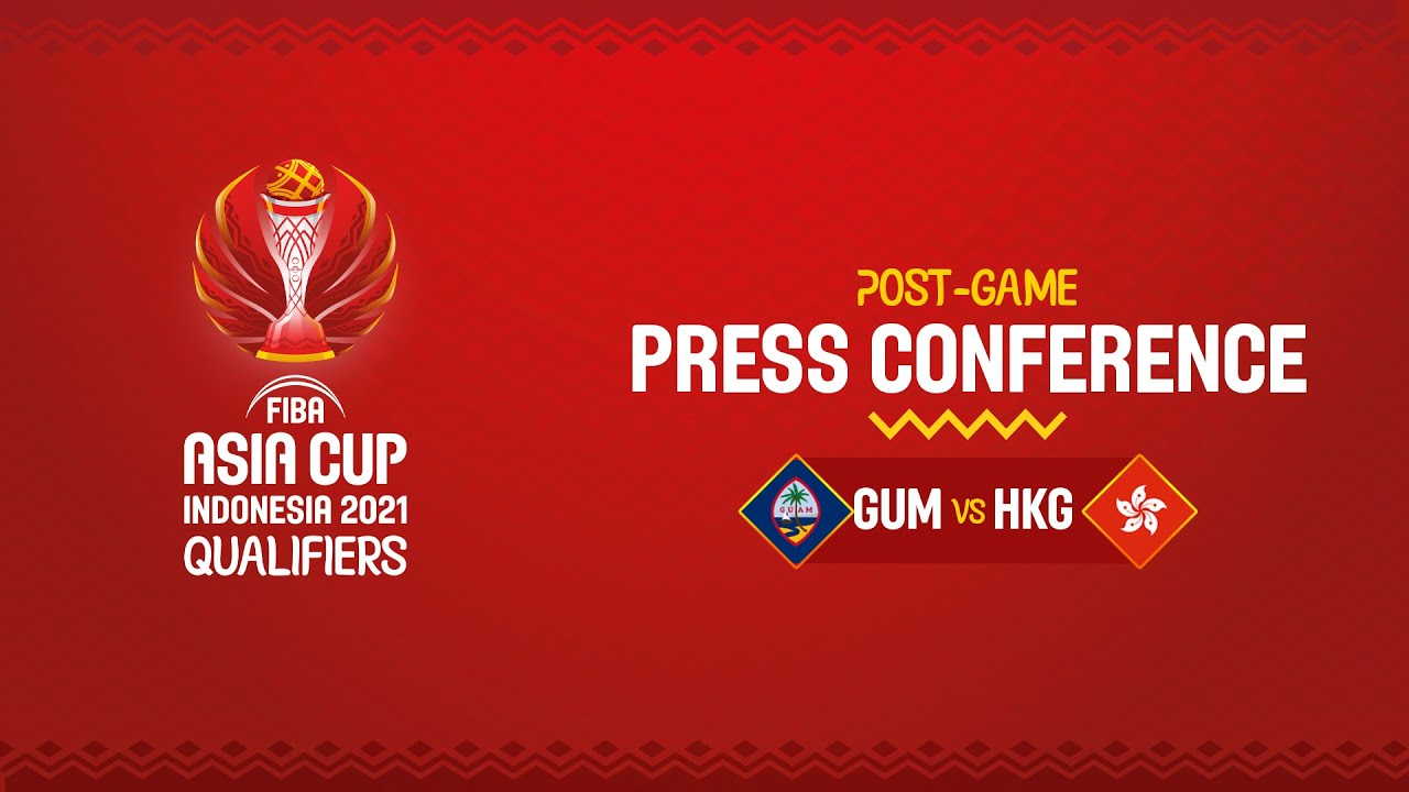Guam v Hong Kong - Press Conference | Asia Cup 2021 Qualifiers