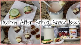 HEALTHY AFTER SCHOOL SNACK IDEAS Thumbnail
