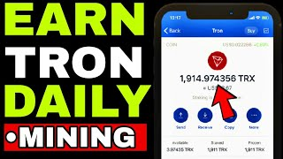 TRON TRX COIN : Claim Free 13,251 Trx Tron Cryptocurrency FAST 2021 (WITH PROOF)|Crypto Mining News