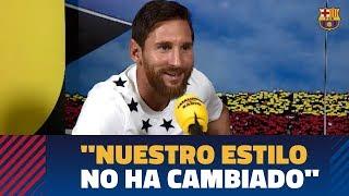 La conversación más futbolera de Leo Messi