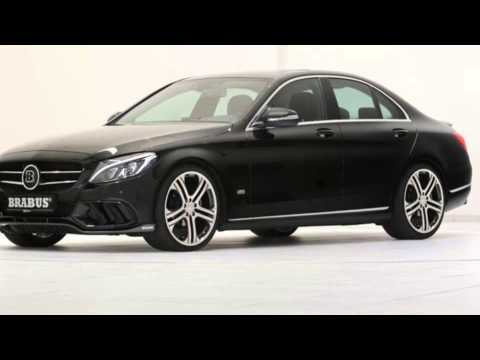 2015 mercedes benz c class w205 tuning brabus youtube. Black Bedroom Furniture Sets. Home Design Ideas
