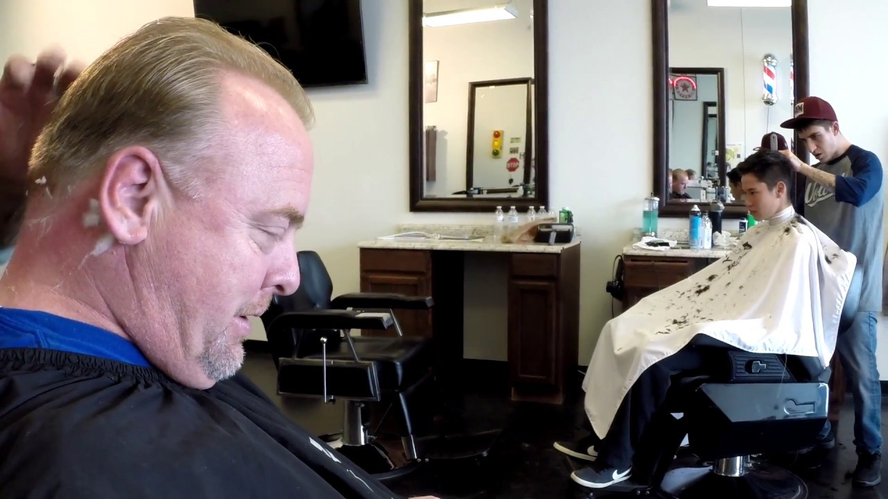 The Hobo Visits Santis Barber Shop For A Haircut And A Shave Vlog