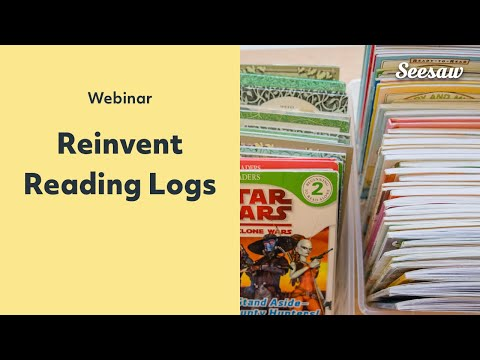 Reinvent reading logs to encourage reading at home (PD in Your PJs)