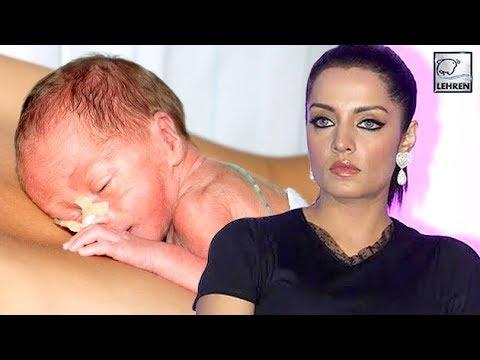 Celina Jaitley Babies