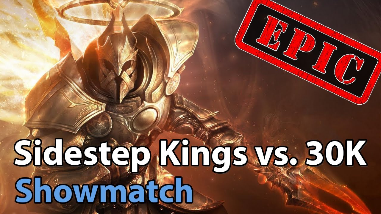 ► EPIC Sidestep Kings vs. 30K Org - Showmatch - Heroes of the Storm Esports