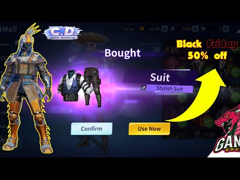 Black friday 50% sale on all packs|Creative destruction funn