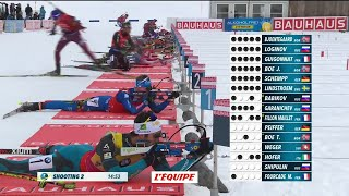 Biathlon - CM (H) - Le Grand Bornand : Martin Fourcade remporte la mass start