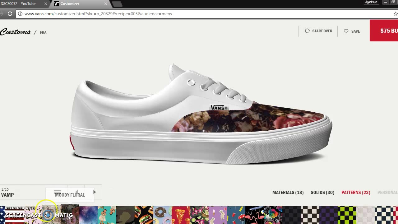 how to make your own vans chaussures