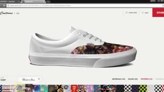 How to make custom Vans! - YouTube