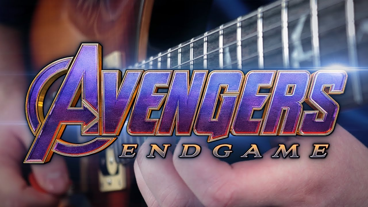 Avengers Endgame Theme on Guitar