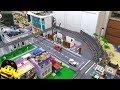 Custom LEGO apartment building begins!