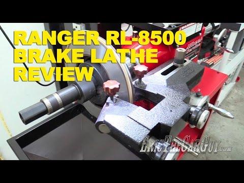 Ranger RL-8500 Brake Lathe Review -EricTheCarGuy