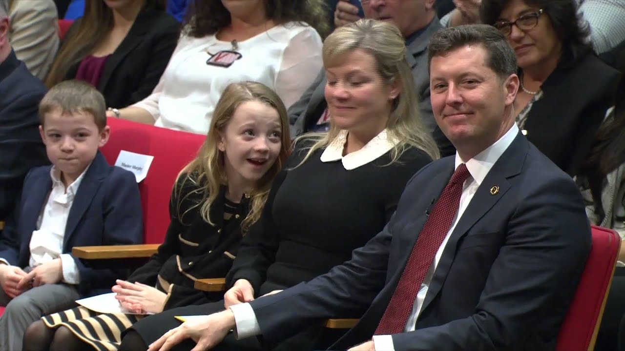 32f2a5b94a Under Secretary Patrick J. Murphy: Swearing-in Ceremony - YouTube