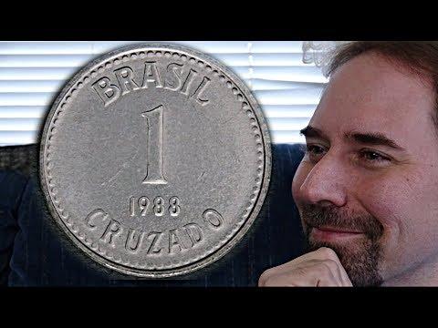 Brazil 1 Cruzado 1988 Coin