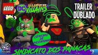 LEGO DC SUPER-VILLAINS – TRAILER DO CRIADOR DE PERSONAGENS (Dublado Em Português PTBR)