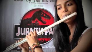 Jurassic Park theme song - Flute cover