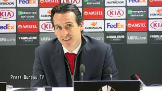Unai Emery pre match press conference vs Southampton