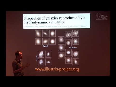 Studying Virtual Universes with Supercomputer Simulations   Public Lecture