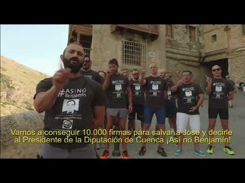 Así No Benjamín: campaña contra el despido de un bombero en Cuenca