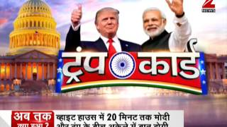 Modi in US: PM Modi talks tough on terror ahead of Trump meeting