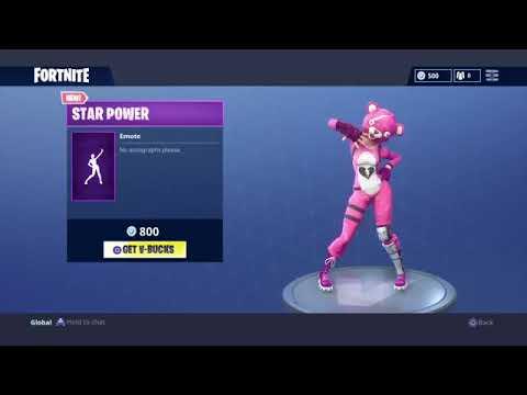 (Fortnite Dance) STAR POWER (1 HOUR)