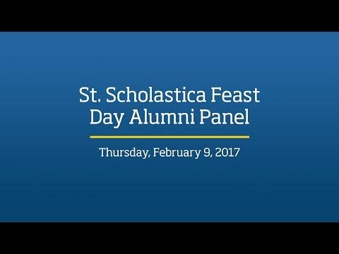 St. Scholastica Feast Day Alumni Panel