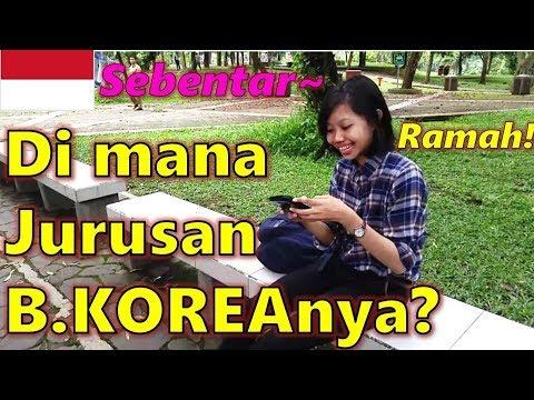Orang Korea Kaget Lihat Universitas INDONESIA