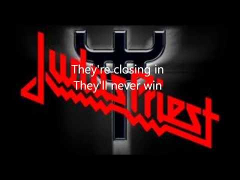 Judas Priest-Blood Red Skies (Lyrics)
