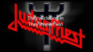 Judas Priest-Blood Red Skies (Lyrics)