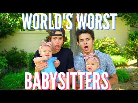 World's WORST Babysitters | Brent Rivera