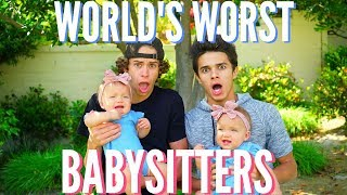 World's WORST Babysitters | Brent Rivera