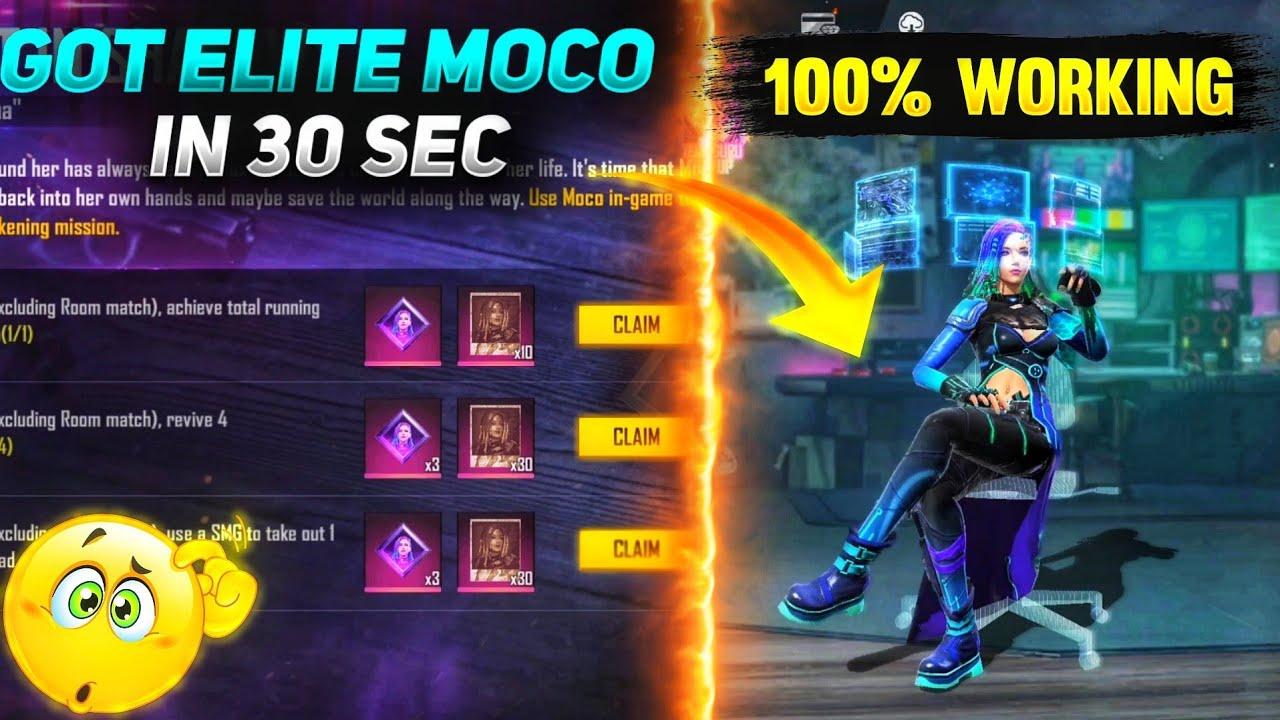Top Best Secret elite Moco Tricks And Tips || I got New Elite Moco  in 30 sec 😱 in Garena free fire
