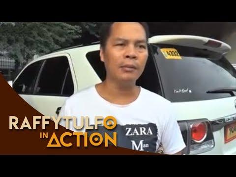 Taxi driver binangga ng lalaking may kaibigang pulis