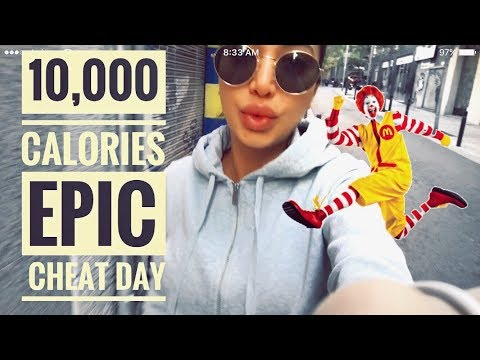 10,000 CALORIE FOOD CHALLENGE & GOING VEGAN {Sunday Walk with Sonya}