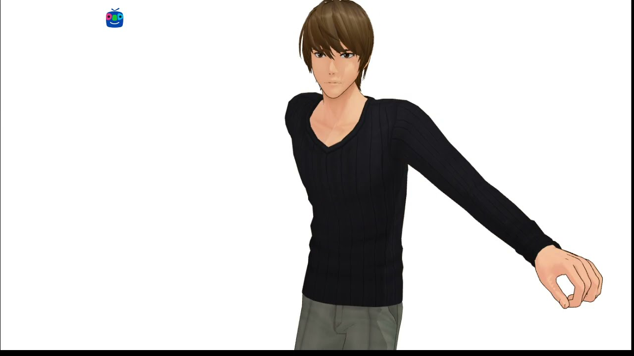 [MMD Death Note] dancing to specialist (Yagami Raito)