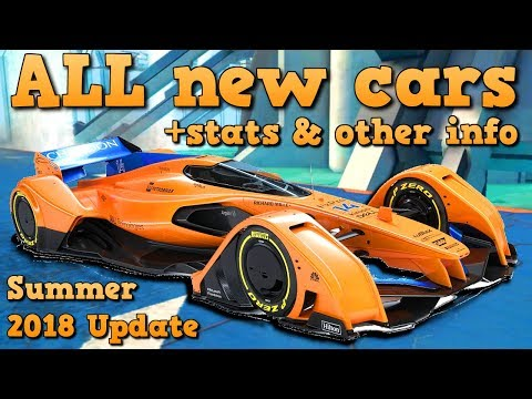 TWO NEW KINGS?!? ALL new cars + stats & other info (Summer 2018 Update to Asphalt 8)