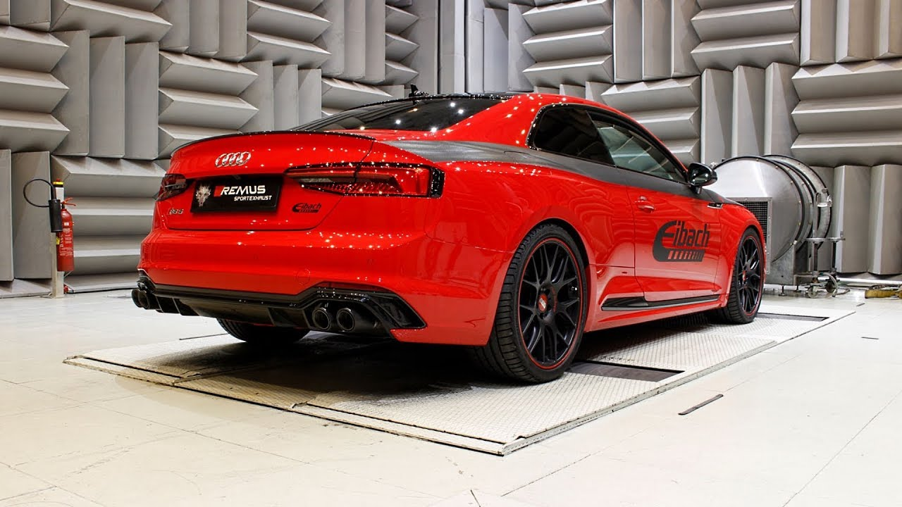 Audi RS5 type F5 with REMUS cat-back system